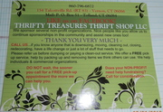 Thrifty Treasures Thrift Shop LLC is MOVING!