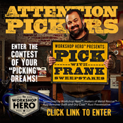 Win A Chance To Pick With Frank Fritz an American Picker!