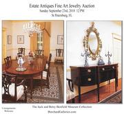 Vintage Estate Antiques Fine Art and Jewelry Auction