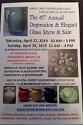 Great lakes Depression Glass Show & Sale