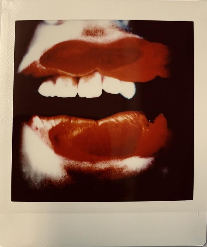 on my lips