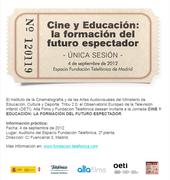Cine y Educación: La formación del espectador del futuro