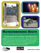Very Special Remembering Haiti Event