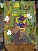 Mixed Media by Anne C. Munter with help of Michelle Adams