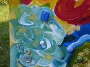 School of the Spirit, Painting Sons and Daughters of God arising 006