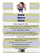 The Stow Story Slam