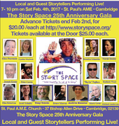 The Story Space 25th Anniversary Gala Celebration on Saturday, February 4th, 2017