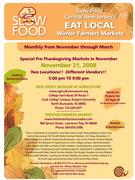Winter Farmers Markets in New Jersey