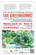 """The Greenhorns"" Film Premiere in Cambridge"