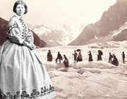Chamonix Mont Blanc - In the footsteps of Miss Jemima - 1865: Tourism in 3D