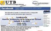 Conferencia Magistral NUEVAS TENDENCIAS EN LA EDUCACION VIRTUAL