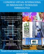 PRIMER CONGRESO VIRTUAL DE INNOVACION Y TECNOLOGIA FARMACEUTICA