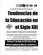 """Jornada de formación """"Tendencias de la Educación del Siglo XXI"""""""