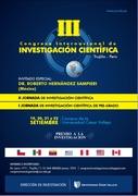III CONGRESO INTERNACIONAL DE INVESTIGACION CIENTIFICA
