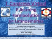 CONGRESO VIRTUAL DE E-LEARNING FARMACEUTICO EN LATINOAMERICA
