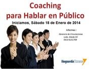 Coaching para hablar en Público