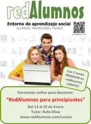 """Curso online: """"redAlumnos para principiantes"""""""