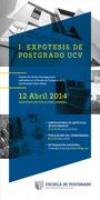 EXPOTESIS DE POSTGRADO UCV, 12 Abril 2014