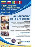 2º Congreso Internacional de TICs Lima- Perú