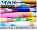 Webinario gratuito sobre la vigencia de Paulo Freire en la educación actual
