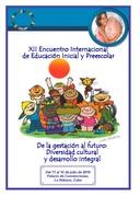 XII ENCUENTRO INTERNACIONAL DE EDUCACIÓN INICIAL Y  PREESCOLAR