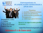 Entrenamiento en Planificación Estratégica Aplicada