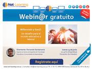 """Webinar GRATUITO """"Millennials y GenZ: un desafío para el mundo educativo y laboral"""""""