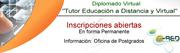 DIPLOMADON EN TUTOR A DISTANCIA Y VIRTUAL EN UNIVERSIDAD DE CORDOBA