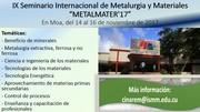 Metalurgia y Materiales