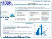 """Curso Virtual """"Gestión de Proyectos basado en PMI-PRINCE2-APM-ISO"""" 29 de nov"""