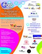 Foro Promoción, Investigación y Redes Sociales en Educación Superior