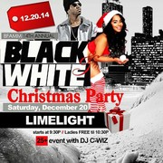 Black and White Christmas Party at Limelight