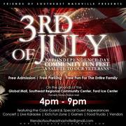 3rd of July Community Fun Fest-A Salute To Our Veterans