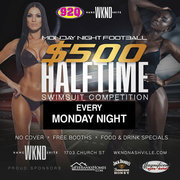 Monday Night Football and Halftime Swimsuit Competition