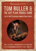 Tom Buller at battleground Smokes and Spirits