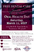 Oral Health Day at Meharry