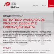 Estratégia Avançada de Projeto e Fabricação Digital