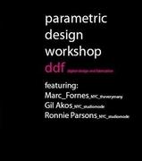 ddf parametric design workshop SP2010