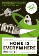 "International Bauhaus summer school ""HOME IS EVERYWHERE"""