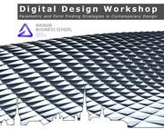 Digital Design Workshop in Tallinn (Estonia)