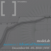 modeLab Advanced Parametrics Workshop