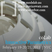 coLab | Interactive Parametrics Workshop