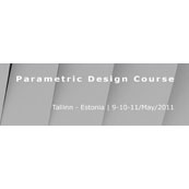 Parametric Design course in Tallinn (Estonia) 9-10-11/May/2011