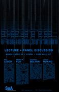 PANEL/LECTURE: DIGITAL FABRICATIONS - 18 April, 2011 (Keynote: Prof Neil Leach)
