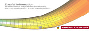 Data Vs Information_ Parametric Design + Digital Fabrication Workshop