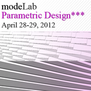 modeLab Parametric Design Workshop*** | NYC