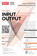 INPUT-OUTPUT / Grasshopper Avanzado