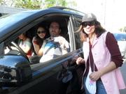 Pedágio Solidário da RFCC de Itajaí apoio da RBS 13 de Agosto 026
