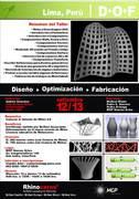 D+O+F Design-Optimization-Fabrication. Lima Perú