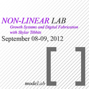 NON-LINEAR LAB: Growth Systems and Digital Fabrication
